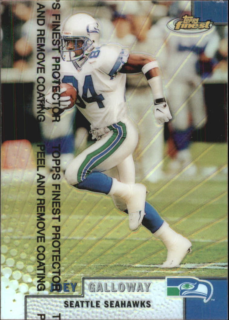1999 Finest Refractors #57 Joey Galloway