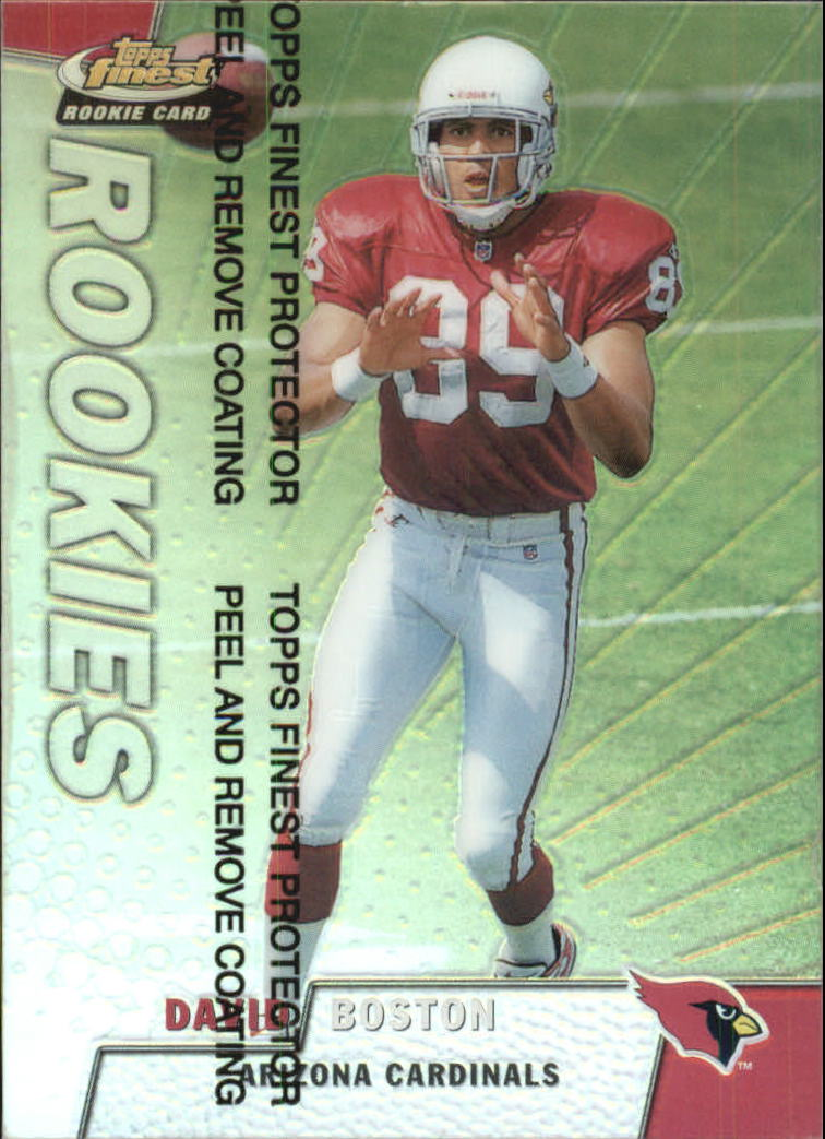 1999 Finest Refractors #173 David Boston