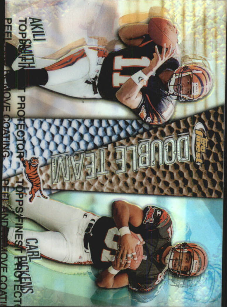 1999 Finest Double Team Dual Refractors #DT1 Ak.Smith/C.Pickens