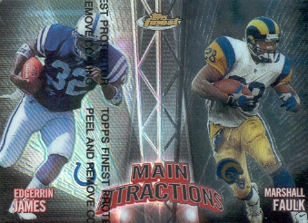 1999 Finest Main Attractions #MA4 E.James/M.Faulk