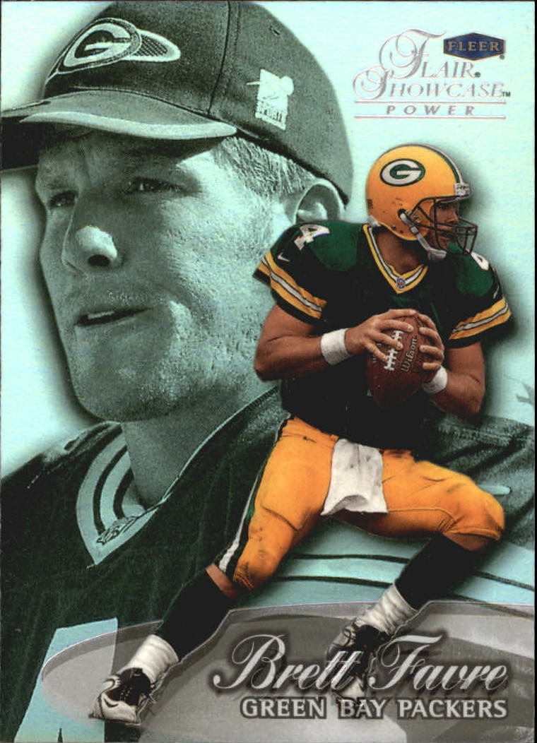 1999 Flair Showcase #13 Brett Favre PW