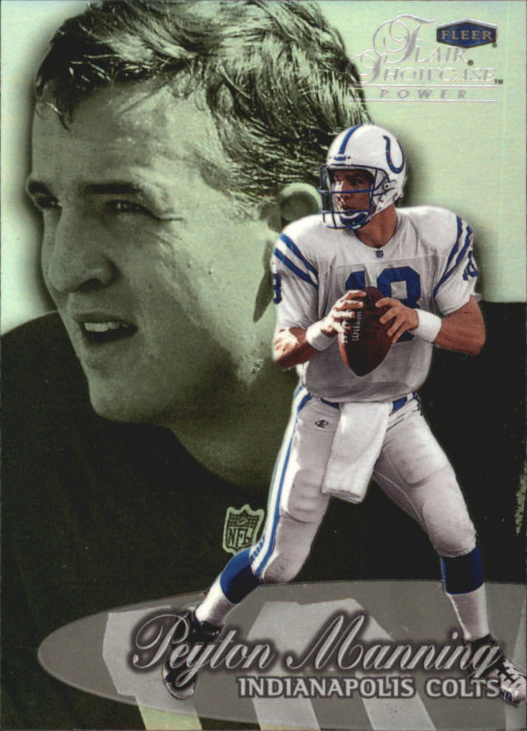 1999 Flair Showcase #18 Peyton Manning PW