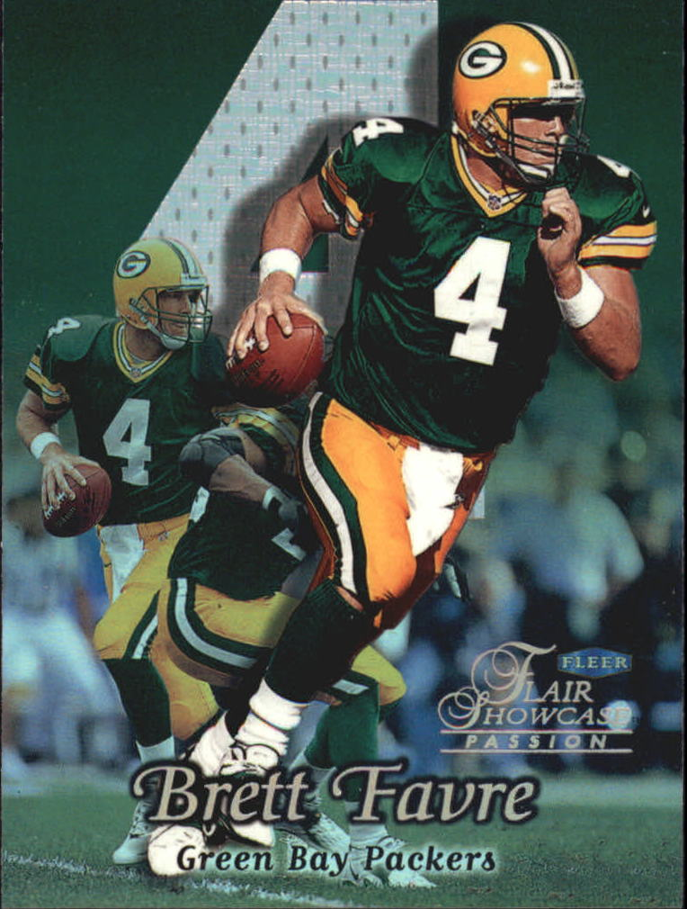 1999 Flair Showcase #52 Brett Favre PN