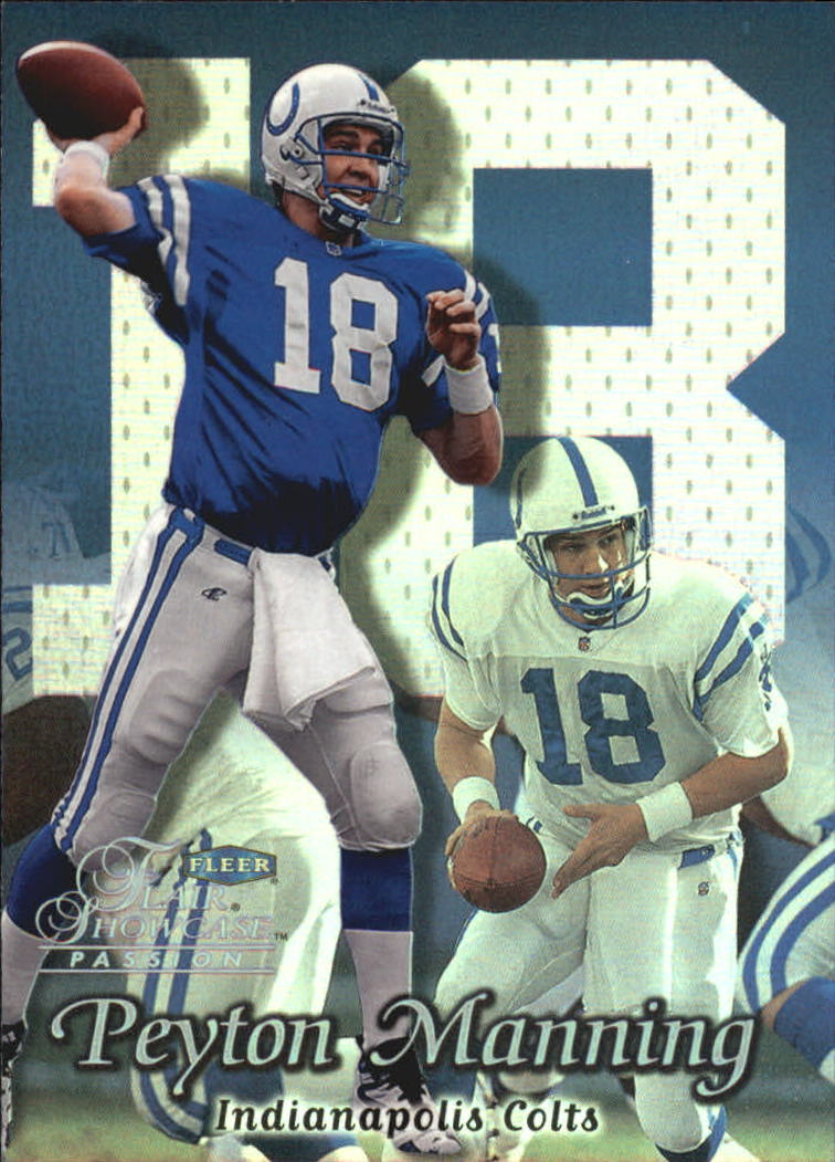 1999 Flair Showcase #70 Peyton Manning PN
