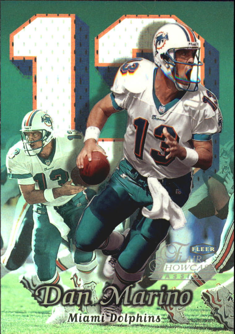 1999 Flair Showcase #71 Dan Marino PN