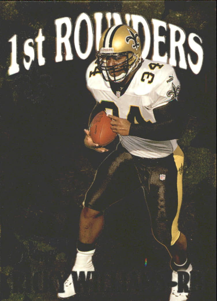 1999 Flair Showcase First Rounders #8FR Ricky Williams
