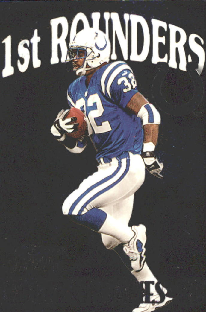 1999 Flair Showcase First Rounders #9FR Edgerrin James