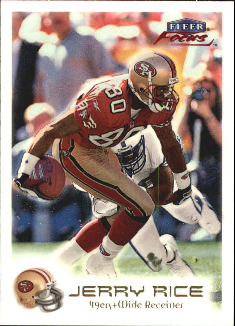 1999 Fleer Focus #4 Jerry Rice
