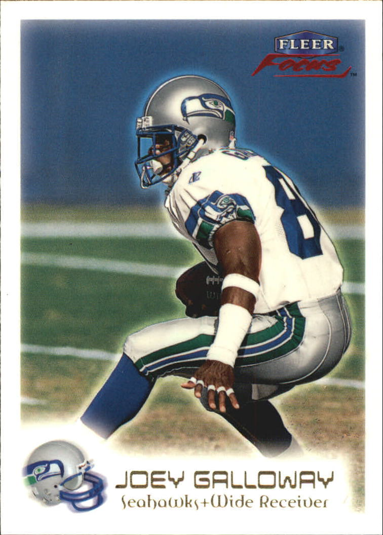 1999 Fleer Focus #11 Joey Galloway