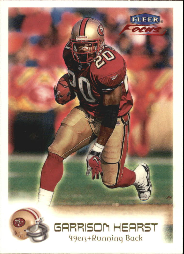 1999 Fleer Focus #14 Garrison Hearst