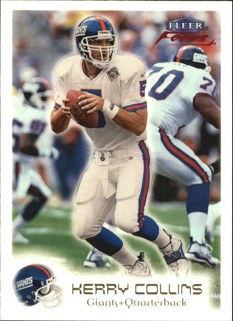 1999 Fleer Focus #15 Kerry Collins