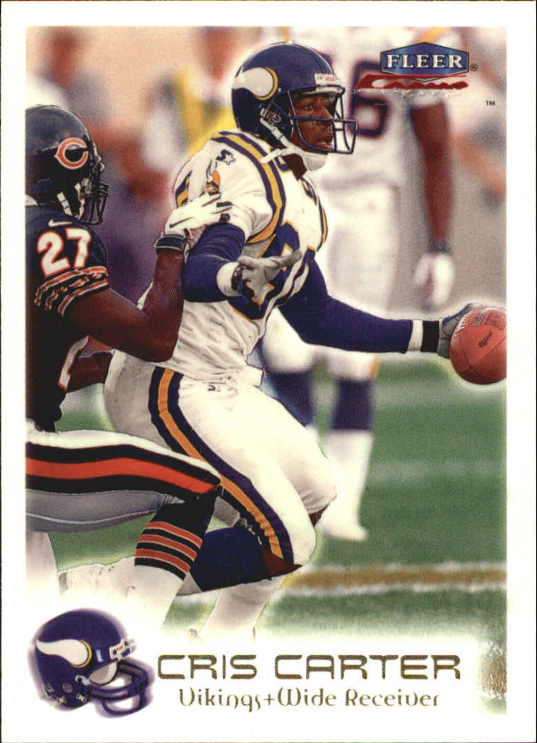 1999 Fleer Focus #16 Cris Carter