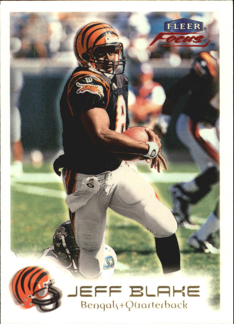 1999 Fleer Focus #24 Jeff Blake