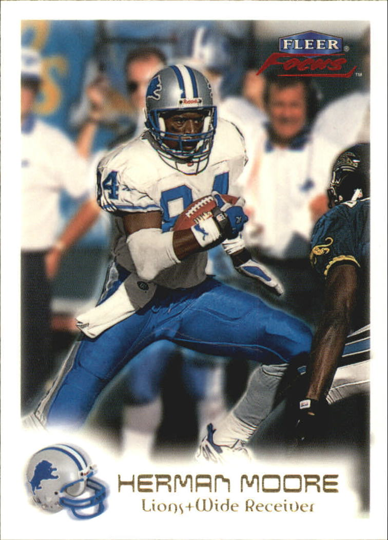 1999 Fleer Focus #25 Herman Moore