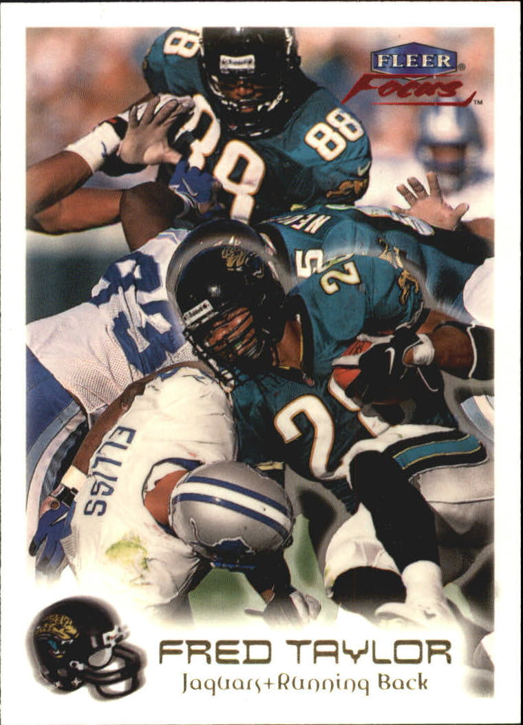 1999 Fleer Focus #28 Fred Taylor