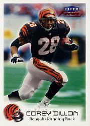 1999 Fleer Focus #30 Corey Dillon