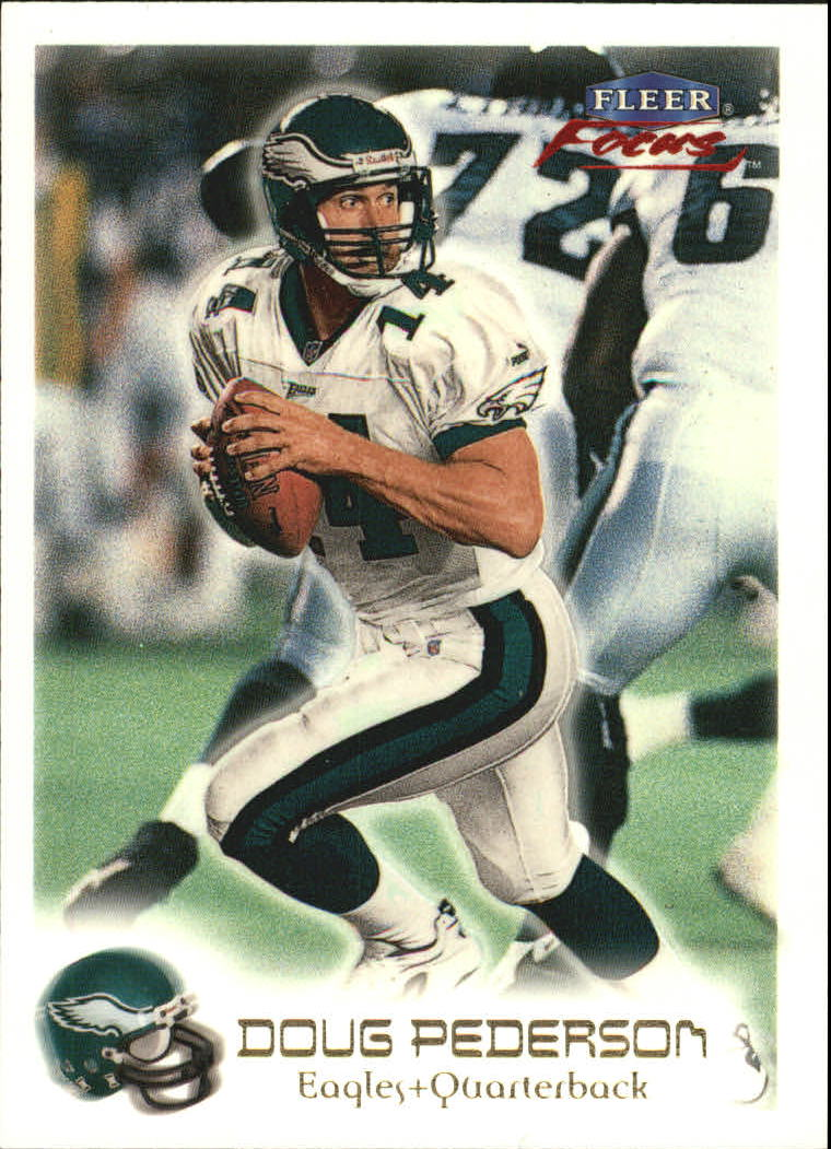 1999 Fleer Focus #33 Doug Pederson