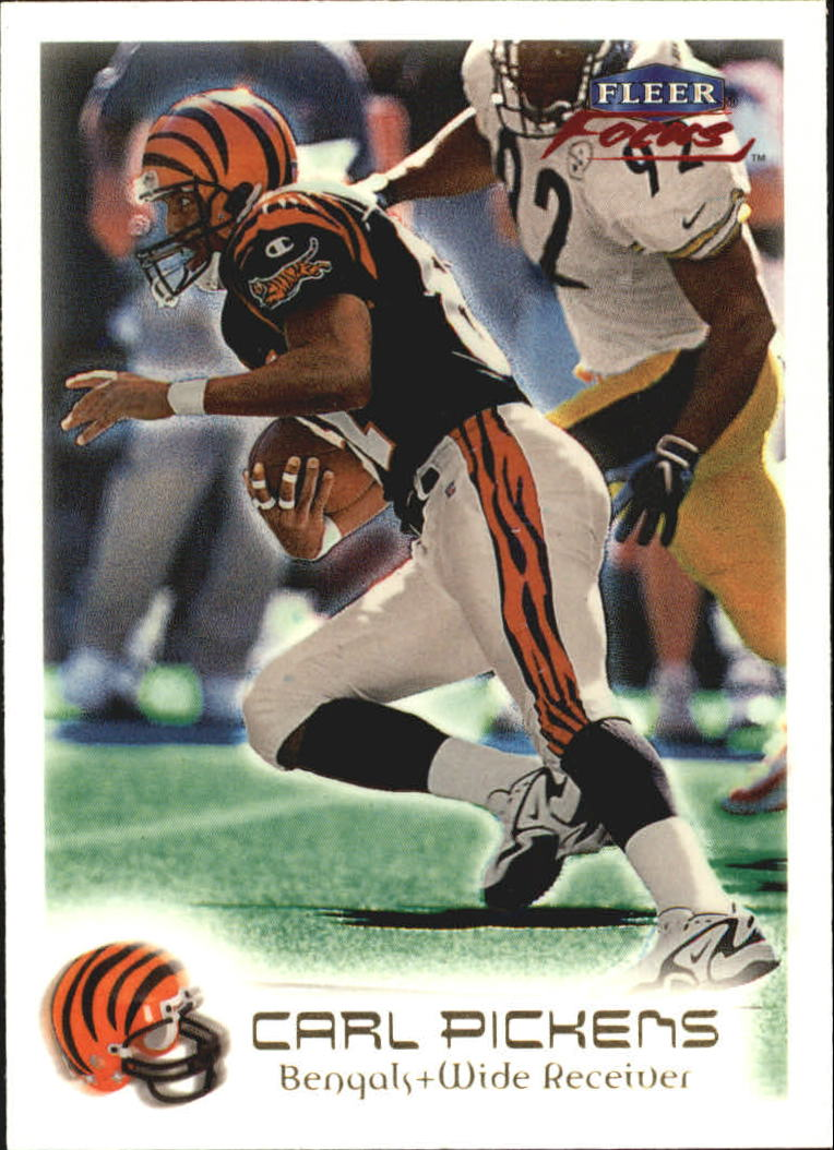 1999 Fleer Focus #37 Carl Pickens