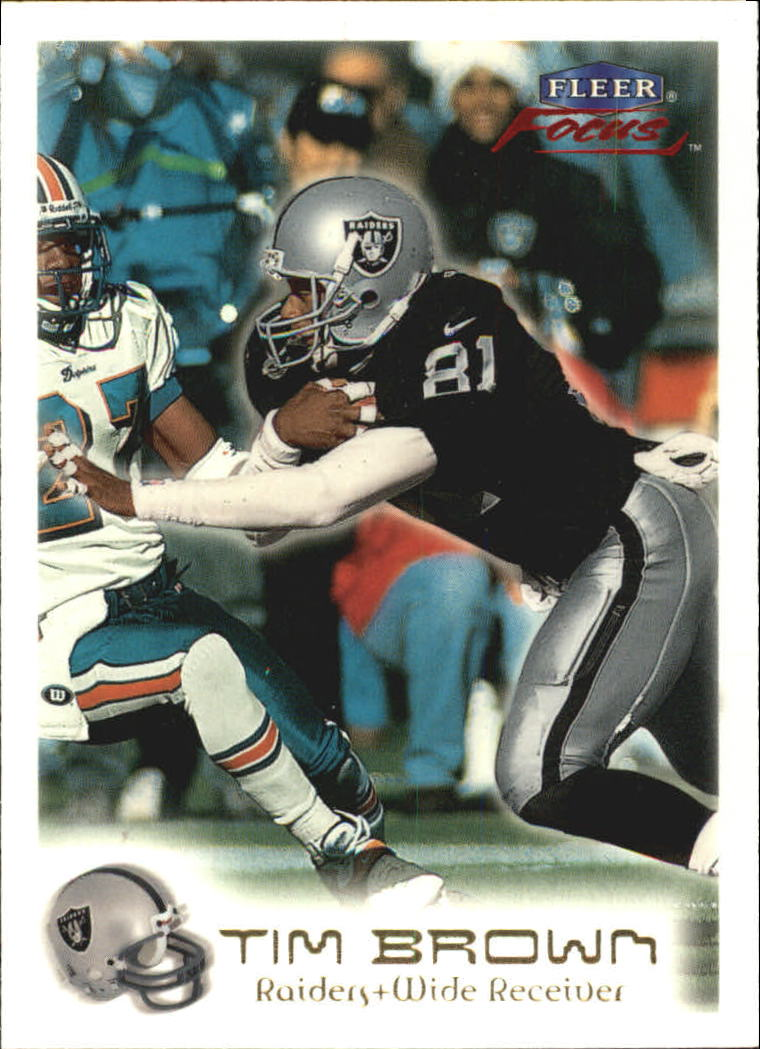 1999 Fleer Focus #65 Tim Brown