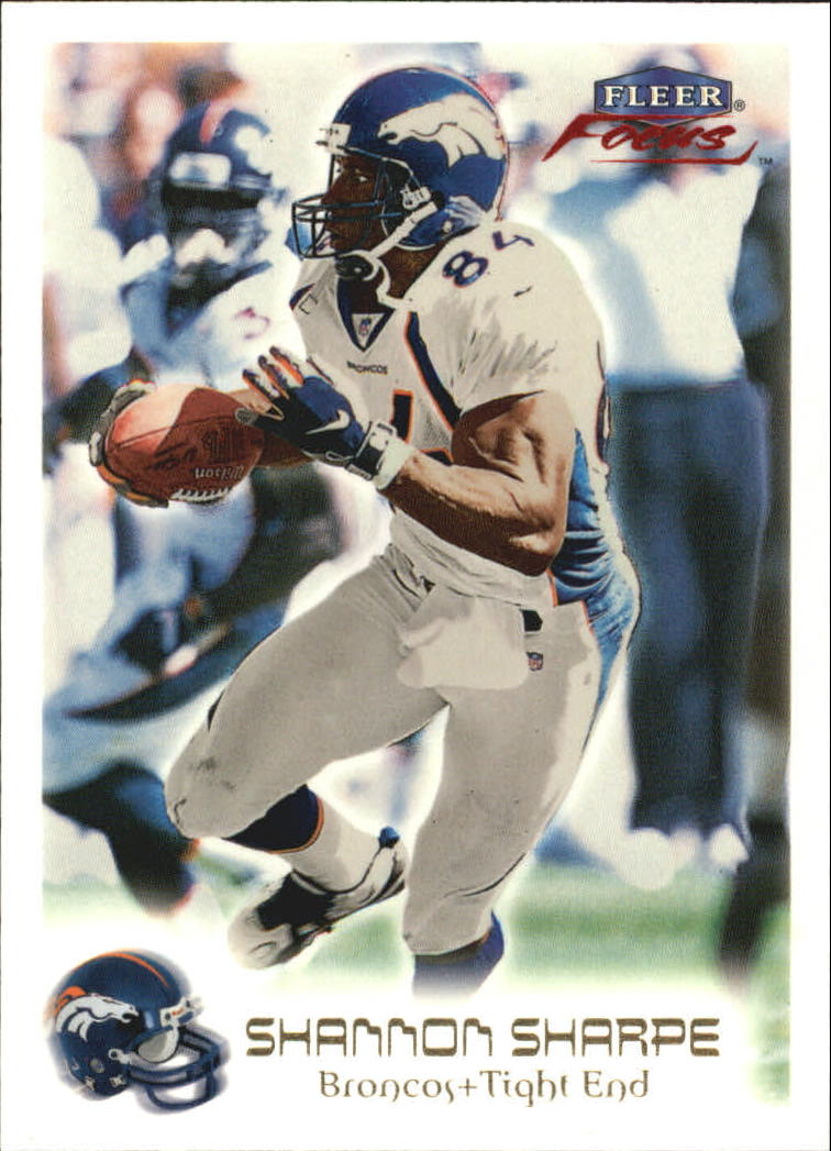 1999 Fleer Focus #68 Shannon Sharpe
