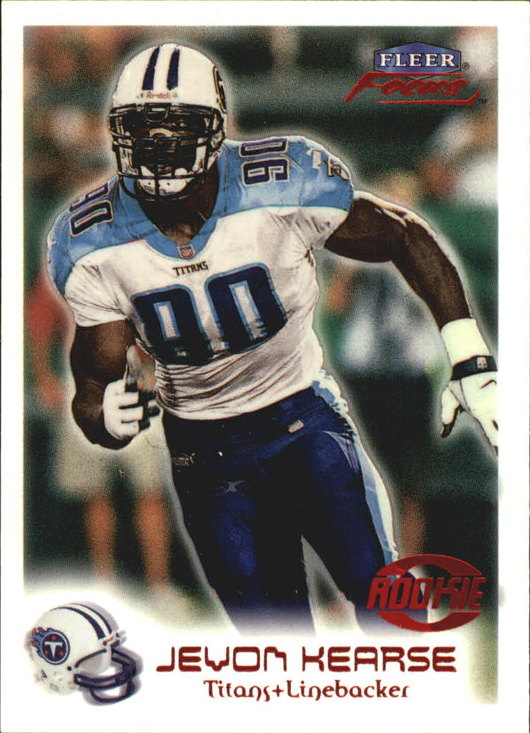 1999 Fleer Focus #107 Jevon Kearse RC