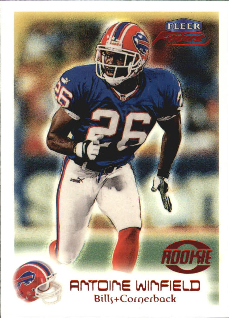 1999 Fleer Focus #110 Antoine Winfield RC