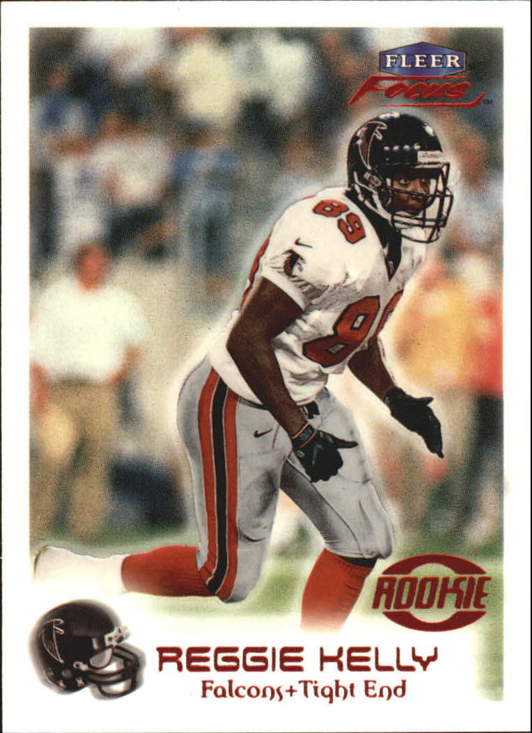 1999 Fleer Focus #122 Reginald Kelly RC