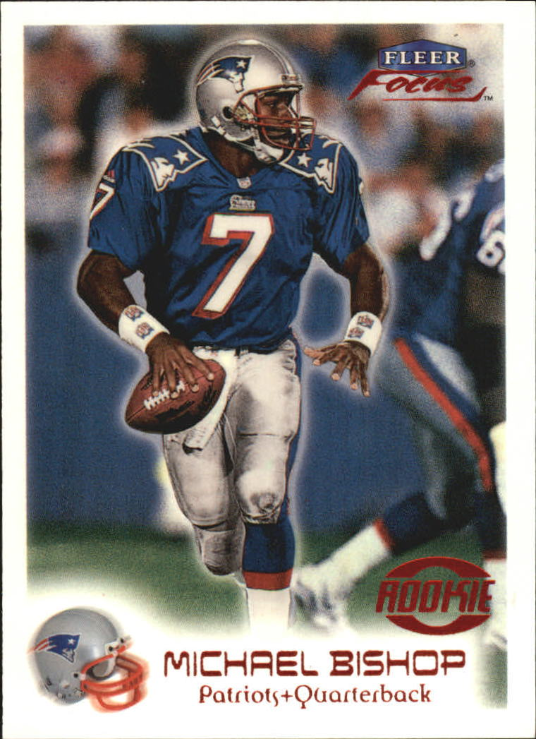 1999 Fleer Focus #161 Michael Bishop RC