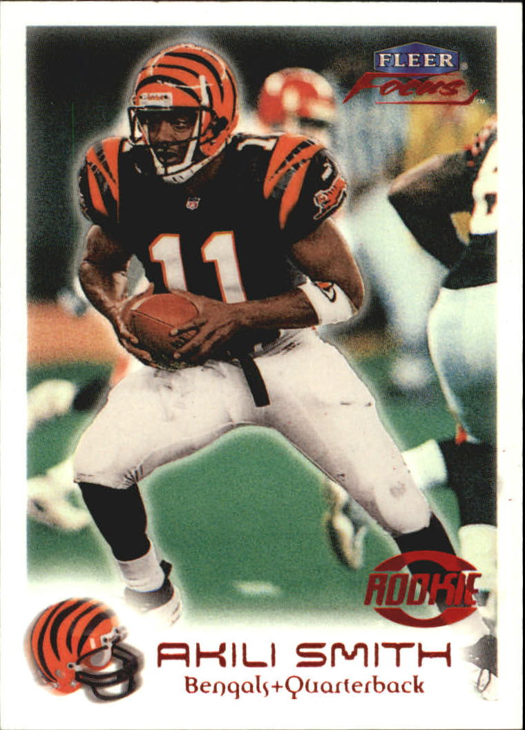 1999 Fleer Focus #175 Akili Smith RC