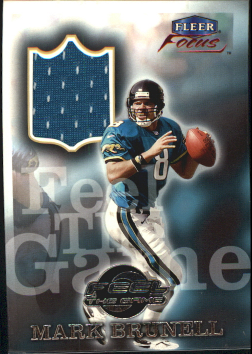 1999 Fleer Focus Feel the Game #2FG Mark Brunell
