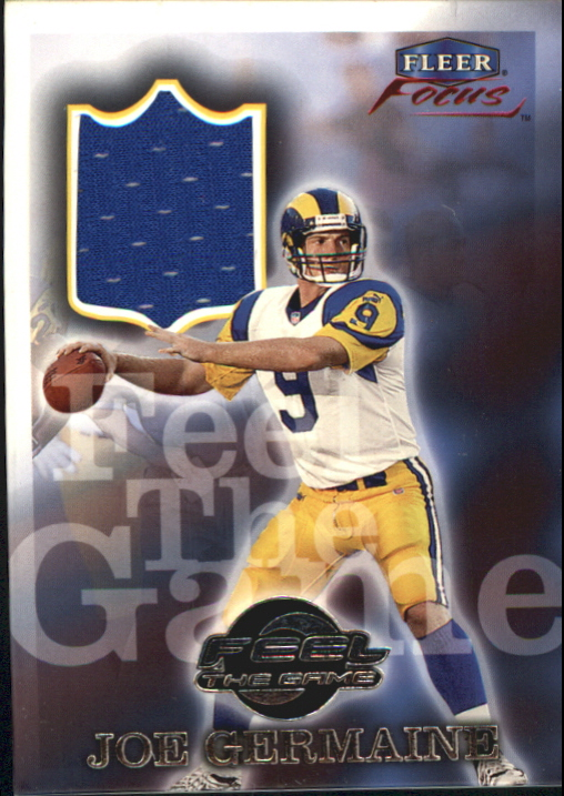 1999 Fleer Focus Feel the Game #7FG Joe Germaine
