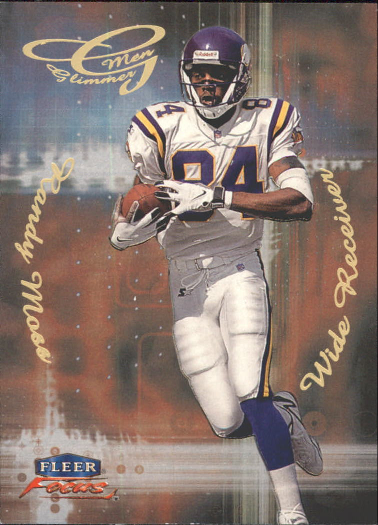 1999 Fleer Focus Glimmer Men #7R Randy Moss