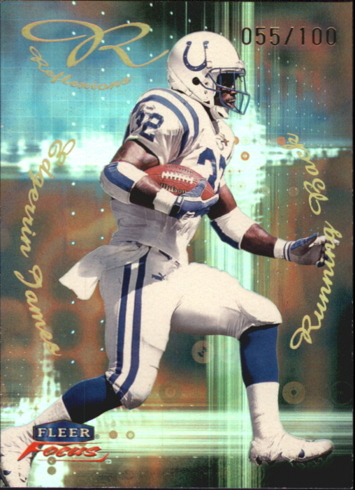 1999 Fleer Focus Reflexions #9R Edgerrin James