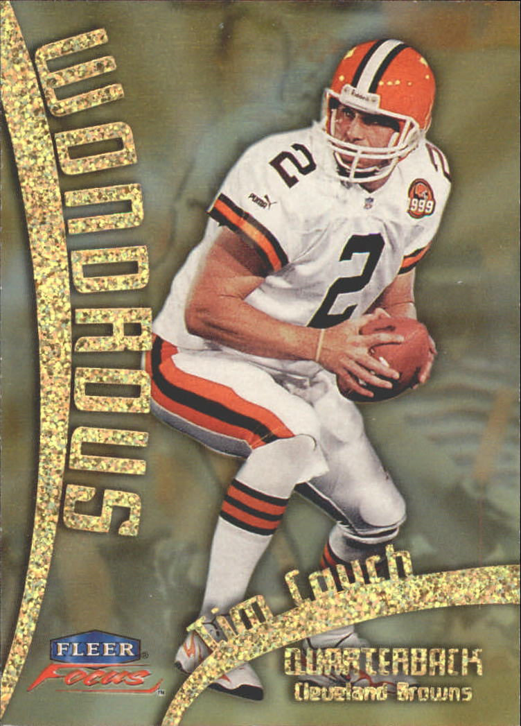 1999 Fleer Focus Wondrous #3W Tim Couch