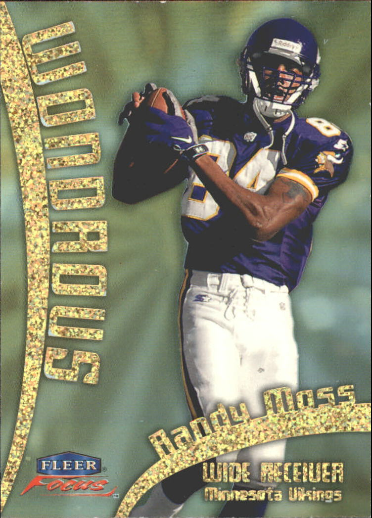 1999 Fleer Focus Wondrous #6W Randy Moss