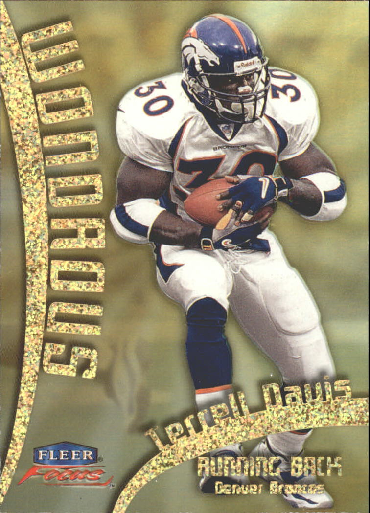 1999 Fleer Focus Wondrous #12W Terrell Davis
