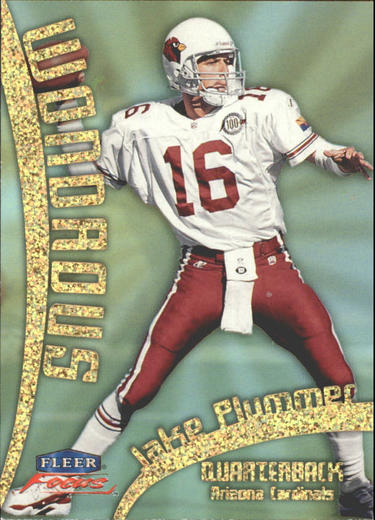 1999 Fleer Focus Wondrous #16W Jake Plummer