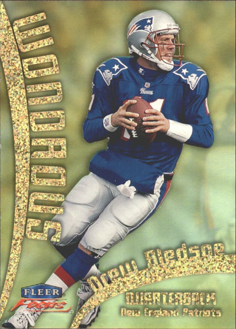 1999 Fleer Focus Wondrous #18W Drew Bledsoe