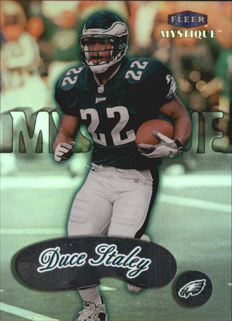 1999 Fleer Mystique #62 Duce Staley
