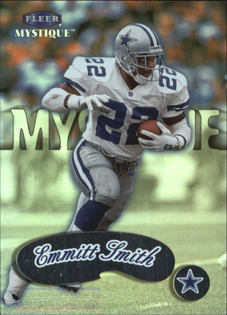 1999 Fleer Mystique #63 Emmitt Smith SP