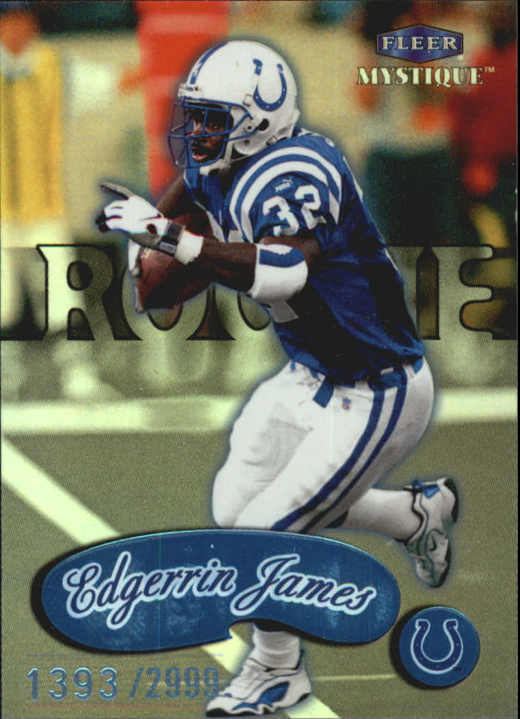 1999 Fleer Mystique #107 Edgerrin James RC
