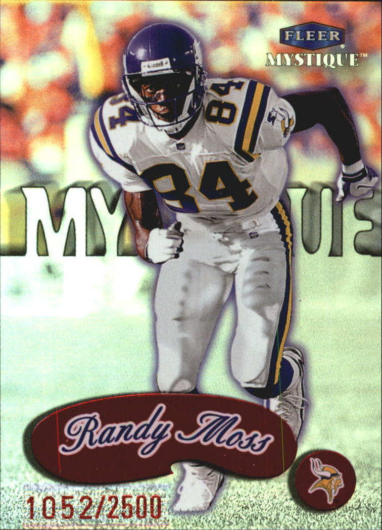 1999 Fleer Mystique #151 Randy Moss STAR
