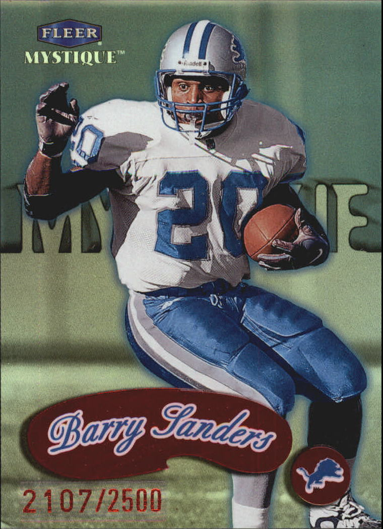 1999 Fleer Mystique #156 Barry Sanders STAR
