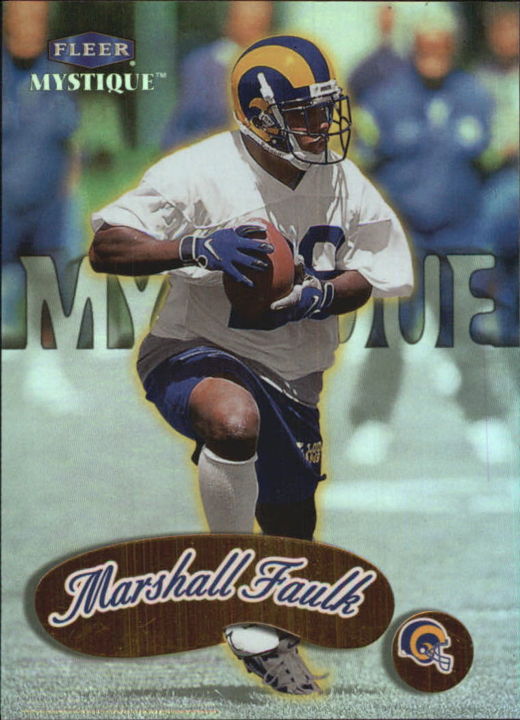 1999 Fleer Mystique Gold #7 Marshall Faulk