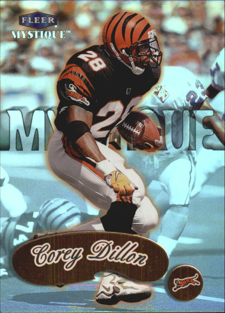1999 Fleer Mystique Gold #36 Corey Dillon
