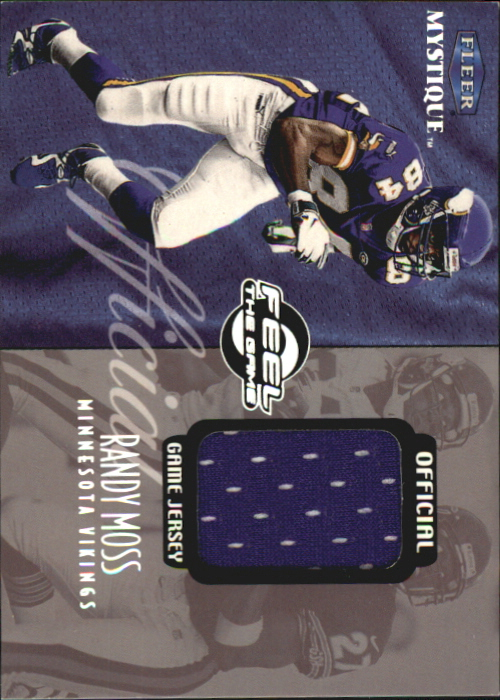 1999 Fleer Mystique Feel the Game #8 Randy Moss/510