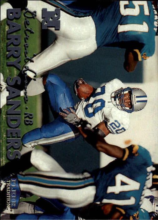 1999 Fleer Tradition #3 Barry Sanders