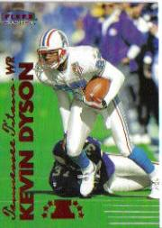 1999 Fleer Tradition #41 Kevin Dyson