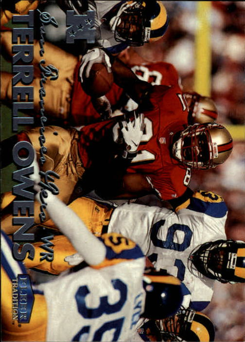 1999 Fleer Tradition #120 Terrell Owens