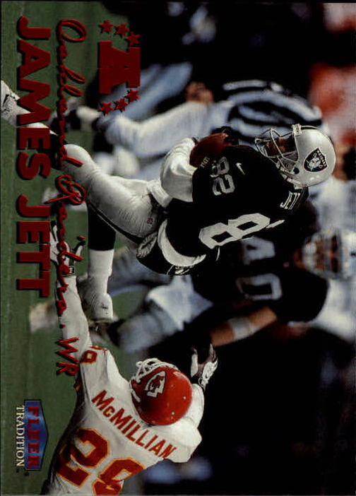 1999 Fleer Tradition #158 James Jett